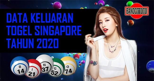 Data Keluaran Togel Singapore Tahun 2020
