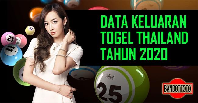 Data Keluaran Togel Thailand Tahun 2020