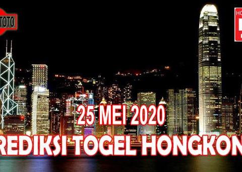 Prediksi Togel Hongkong Hari Ini 25 Mei 2020