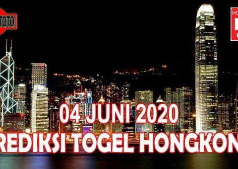 Prediksi Togel Hongkong Hari Ini 4 Juni 2020