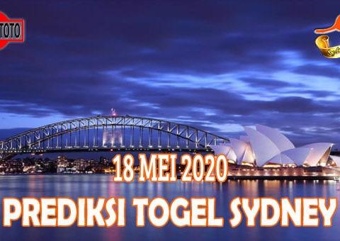 Prediksi Togel Sydney Hari Ini 18 Mei 2020
