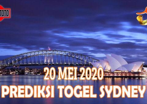 Prediksi Togel Sydney Hari Ini 20 Mei 2020