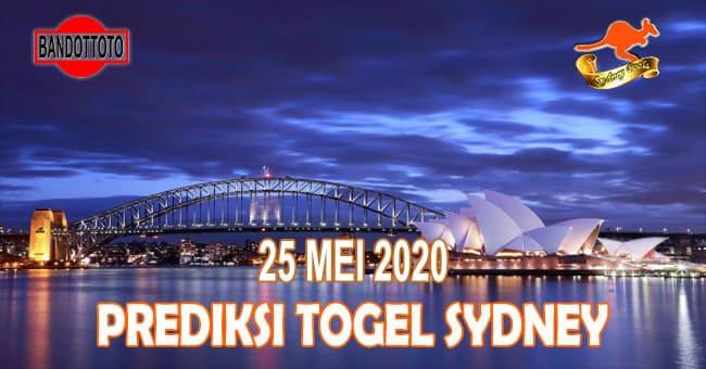 Prediksi Togel Sydney Hari Ini 25 Mei 2020
