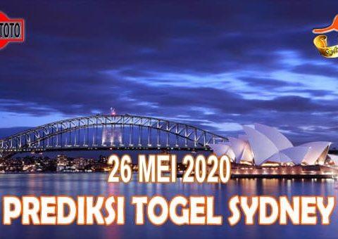 Prediksi Togel Sydney Hari Ini 26 Mei 2020