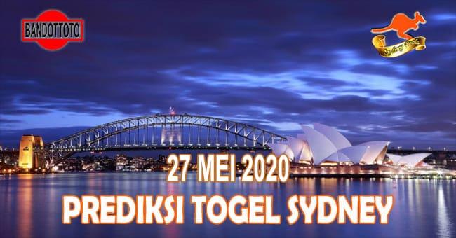 Prediksi Togel Sydney Hari Ini 27 Mei 2020