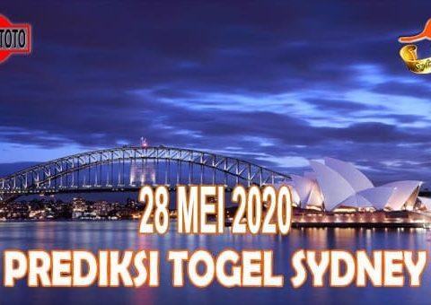 Prediksi Togel Sydney Hari Ini 28 Mei 2020