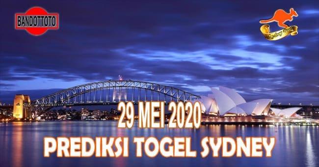 Prediksi Togel Sydney Hari Ini 29 Mei 2020