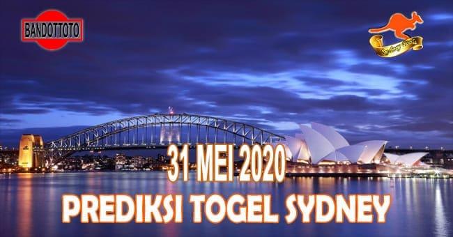 Prediksi Togel Sydney Hari Ini 31 Mei 2020