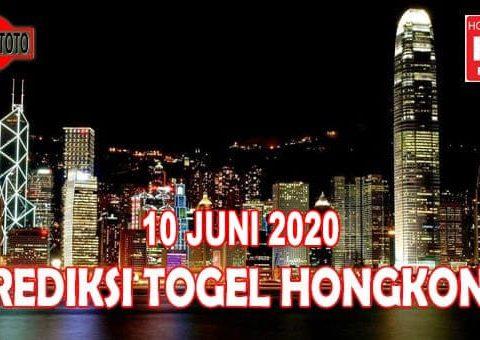 Prediksi Togel Hongkong Hari Ini 10 Juni 2020