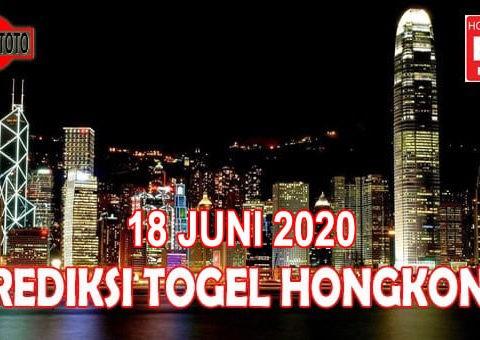 Prediksi Togel Hongkong Hari Ini 18 Juni 2020