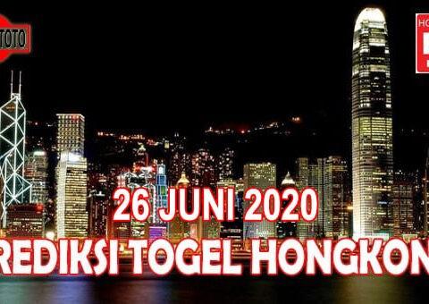 Prediksi Togel Hongkong Hari Ini 26 Juni 2020