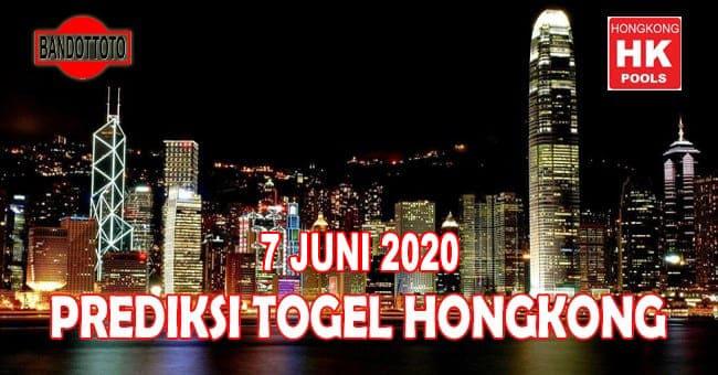 Prediksi Togel Hongkong Hari Ini 7 Juni 2020