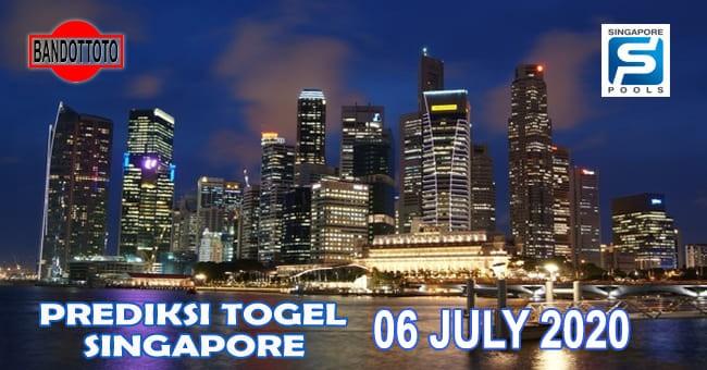 Prediksi Togel Singapore Hari Ini 06 Juli 2020
