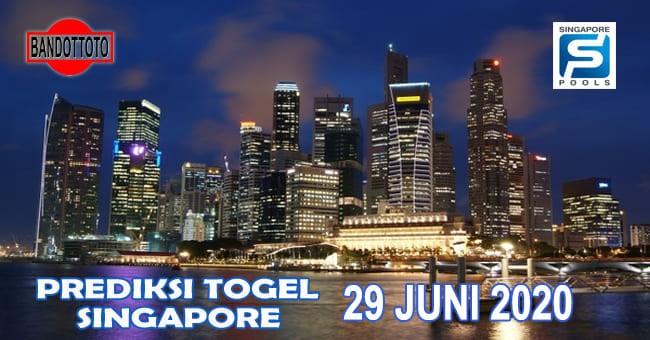 Prediksi Togel Singapore Hari Ini 29 Juni 2020