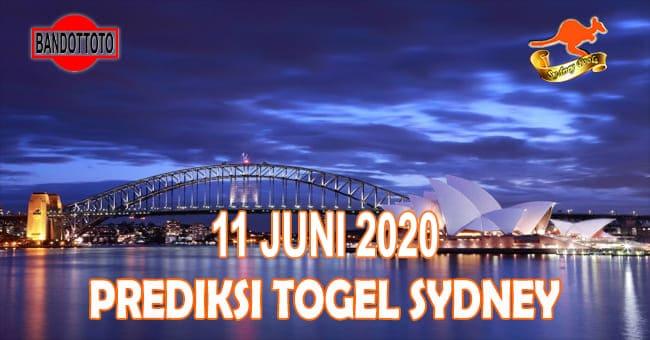 Prediksi Togel Sydney Hari Ini 11 Juni 2020