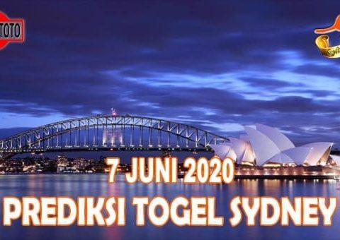 Prediksi Togel Sydney Hari Ini 7 Juni 2020