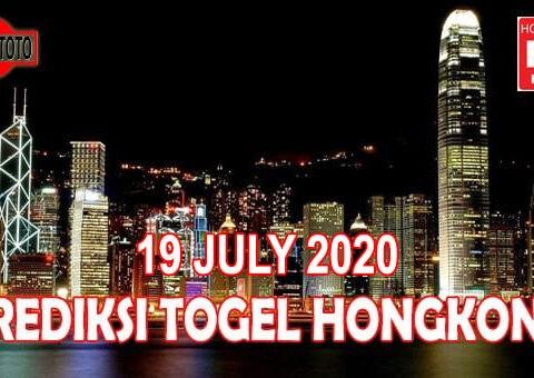 Prediksi Togel Hongkong Hari Ini 19 Juli 2020