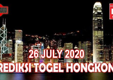 Prediksi Togel Hongkong Hari Ini 26 Juli 2020
