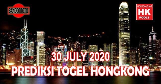 Prediksi Togel Hongkong Hari Ini 30 Juli 2020