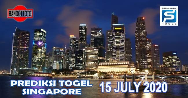 Prediksi Togel Singapore Hari Ini 15 Juli 2020