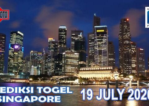 Prediksi Togel Singapore Hari Ini 19 Juli 2020