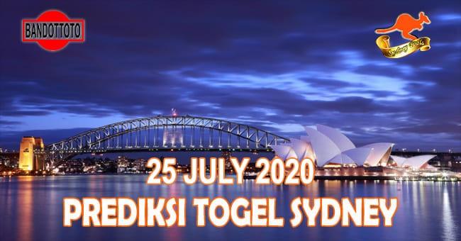 Prediksi Togel Sydney Hari Ini 25 Juli 2020