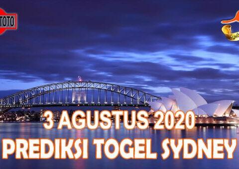 Prediksi Togel Sydney Hari Ini 3 Agustus 2020