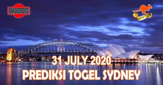 Prediksi Togel Sydney Hari Ini 31 Juli 2020