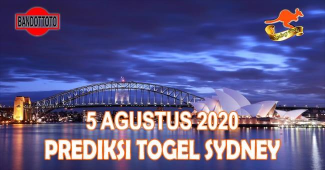 Prediksi Togel Sydney Hari Ini 5 Agustus 2020