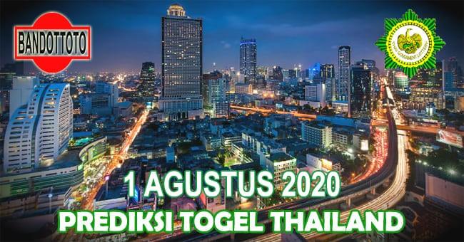 Prediksi Togel Thailand Hari Ini 1 Agustus 2020