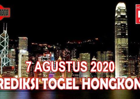 Prediksi Togel Hongkong Hari Ini 7 Agustus 2020