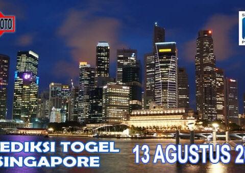 Prediksi Togel Singapore Hari Ini 13 Agustus 2020