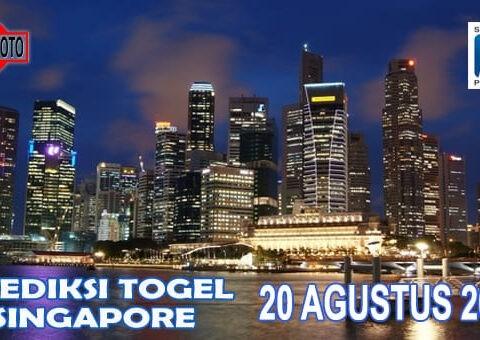 Prediksi Togel Singapore Hari Ini 20 Agustus 2020