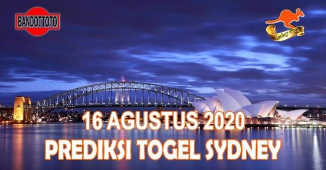 Prediksi Togel Sydney Hari Ini 16 Agustus 2020