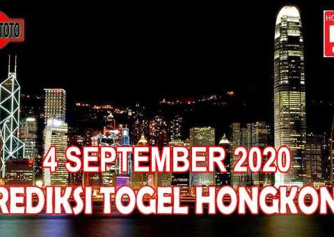 Prediksi Togel Hongkong Hari Ini 4 September 2020
