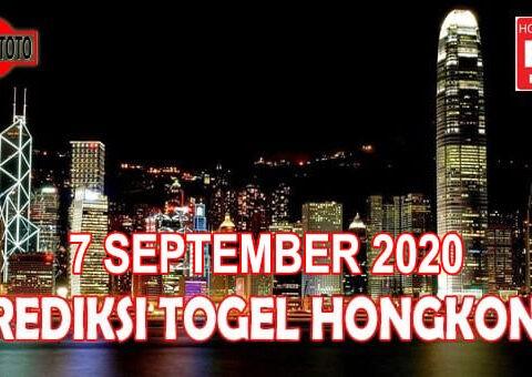 Prediksi Togel Hongkong Hari Ini 7 September 2020