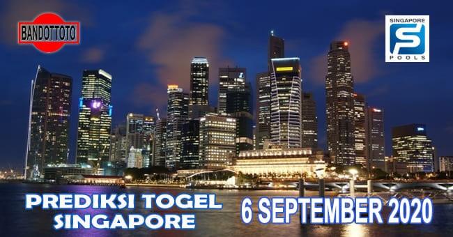 Prediksi Togel Singapore Hari Ini 6 September 2020