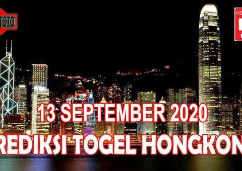 Prediksi Togel Hongkong Hari Ini 13 September 2020