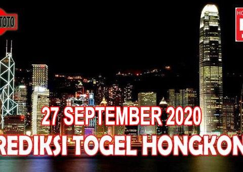 Prediksi Togel Hongkong Hari Ini 27 September 2020