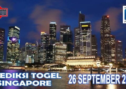 Prediksi Togel Singapore Hari Ini 26 September 2020