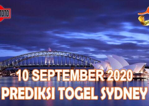 Prediksi Togel Sydney Hari Ini 10 September 2020