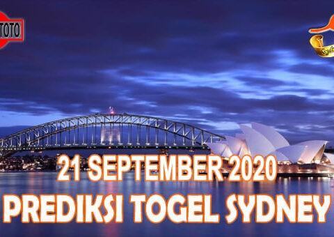 Prediksi Togel Sydney Hari Ini 21 September 2020