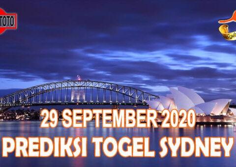 Prediksi Togel Sydney Hari Ini 29 September 2020