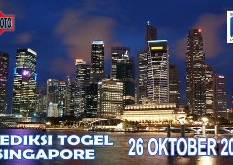 Prediksi Togel Singapore Hari Ini 26 Oktober 2020