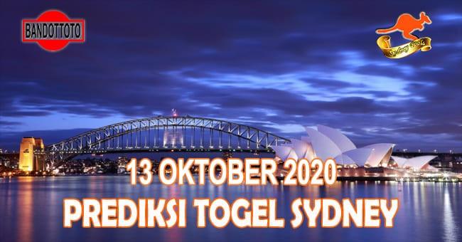 Prediksi Togel Sydney Hari Ini 13 Oktober 2020