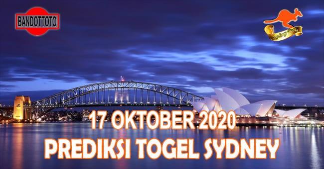 Prediksi Togel Sydney Hari Ini 17 Oktober 2020