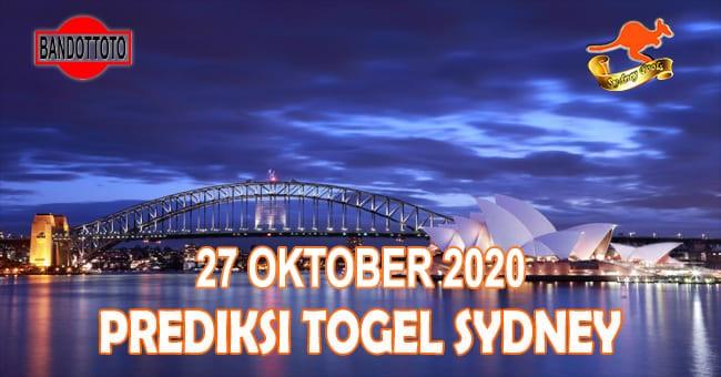 Prediksi Togel Sydney Hari Ini 27 Oktober 2020