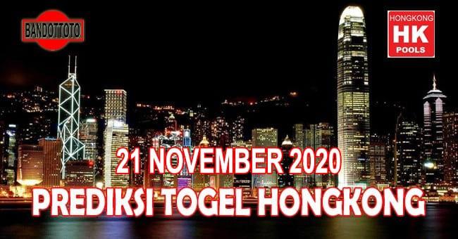 Prediksi Togel Hongkong Hari Ini 21 November 2020