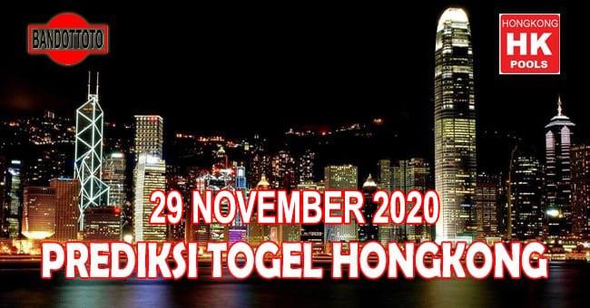 Prediksi Togel Hongkong Hari Ini 29 November 2020
