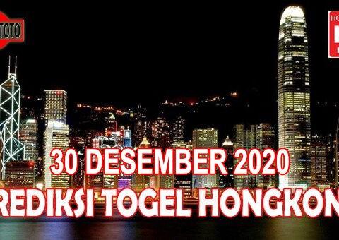 Prediksi Togel Hongkong Hari Ini 30 Desember 2020